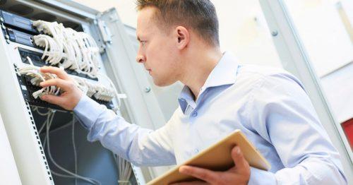 Installation, Service und Administration von geschulten Mitarbeitern